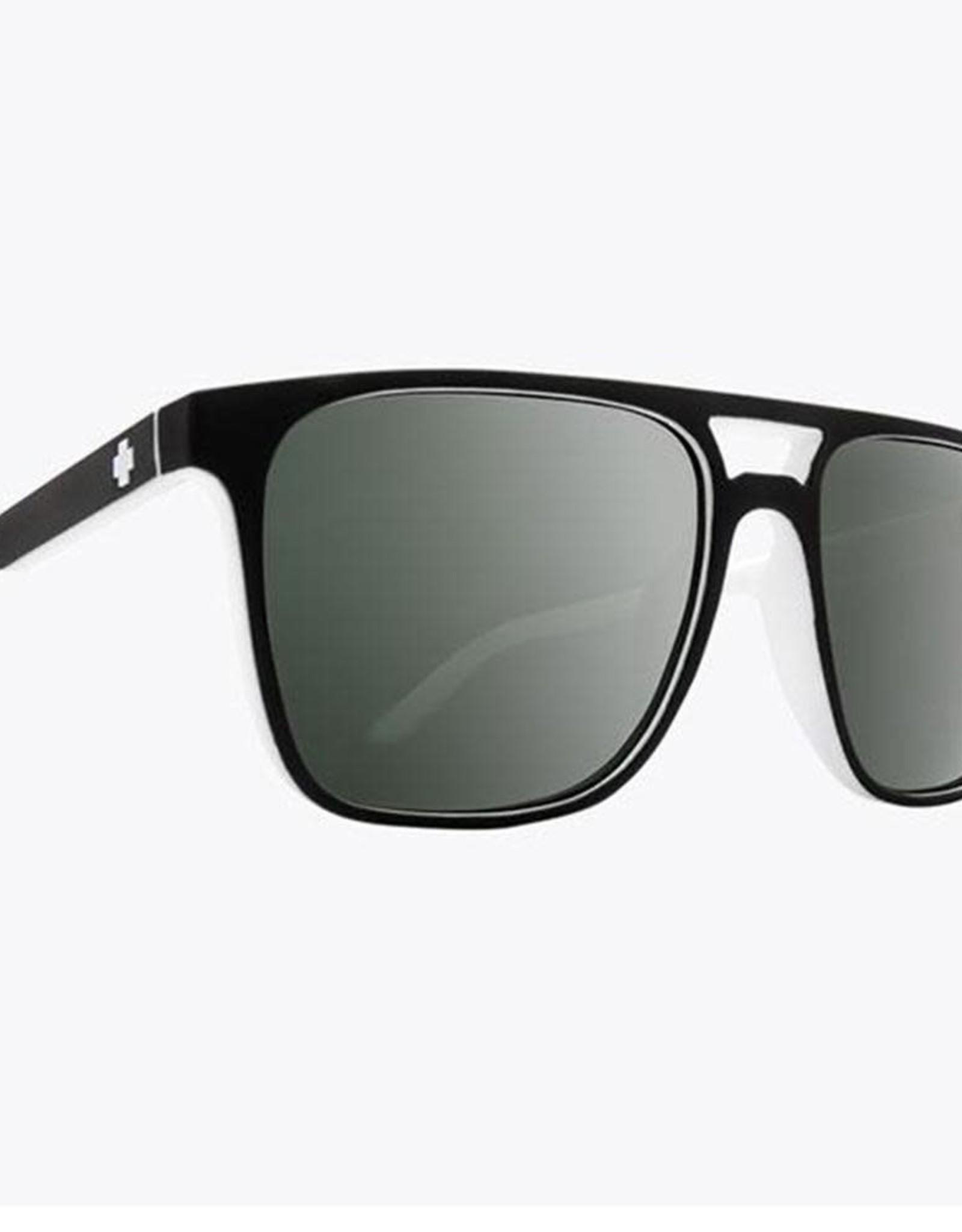 SPY Spy - CZAR WHITEWALL HD - Grey/Green w/ plat spec.