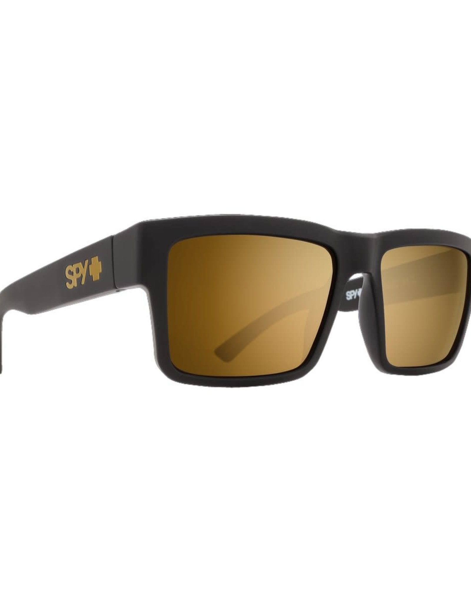SPY SPY - MONTANA - Soft Matte BLK - bronze/gold spec.