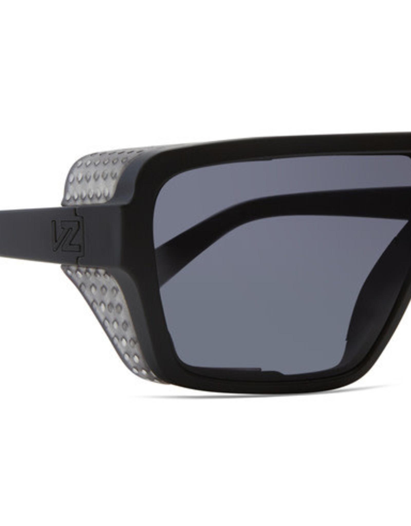 Von Zipper VZ - DEFENDER - Black/Clear w/ Grey