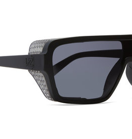 Von Zipper VZ - DEFENDER - Black/Clear w/ Grey