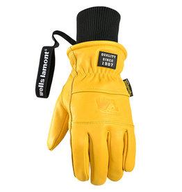 Wells Lamont WELLS LAMONT - SNOW HydraHyde® Full Leather Glove 1189 -