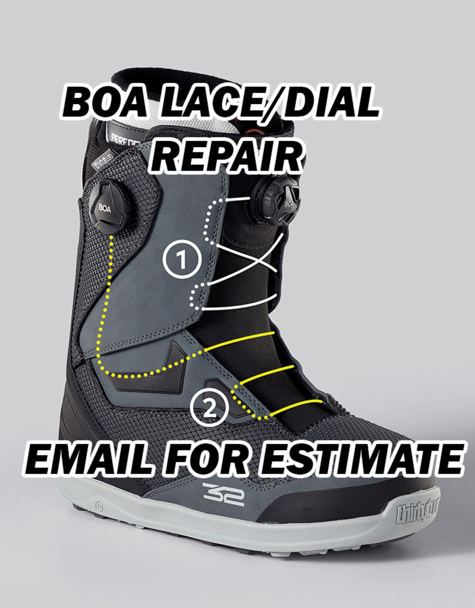 Syndicate BOA LACE / DIAL REPAIR