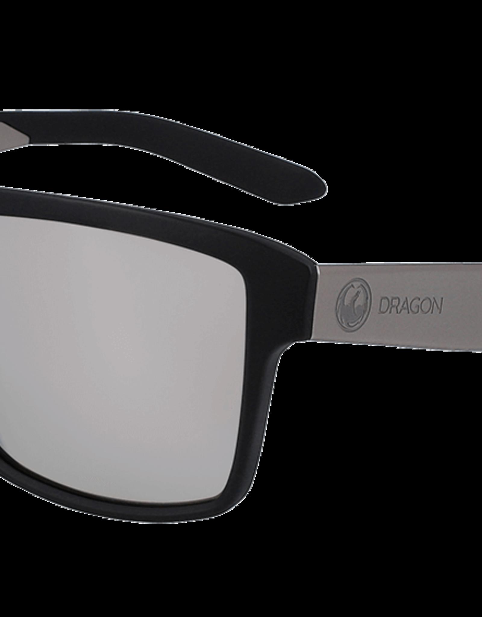 Dragon Dragon - SPACE - Matte Black w/ LL Silver Ion