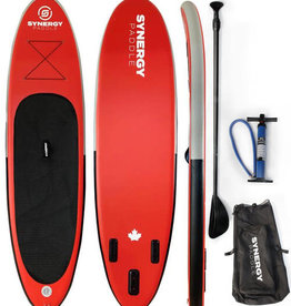 "Coral Sea Coral Sea - SYNERGY Inflatable SUP - 10'6"" Red"