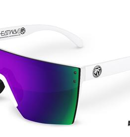 Heatwave Visual Heatwave - LAZER FACE (Z87) - Ultra Violet (White Frame)
