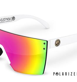 Heatwave Visual Heatwave - LAZER FACE (Z87) - POLAR Savage Spectrum (White Frame)