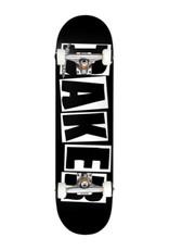 """BAKER Baker - LOGO COMPLETE BLK/WHT - 8.25"""""""