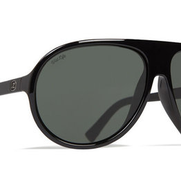 Von Zipper VZ - ROCKFORD - Black Satin w/ POLAR Vintage Grey