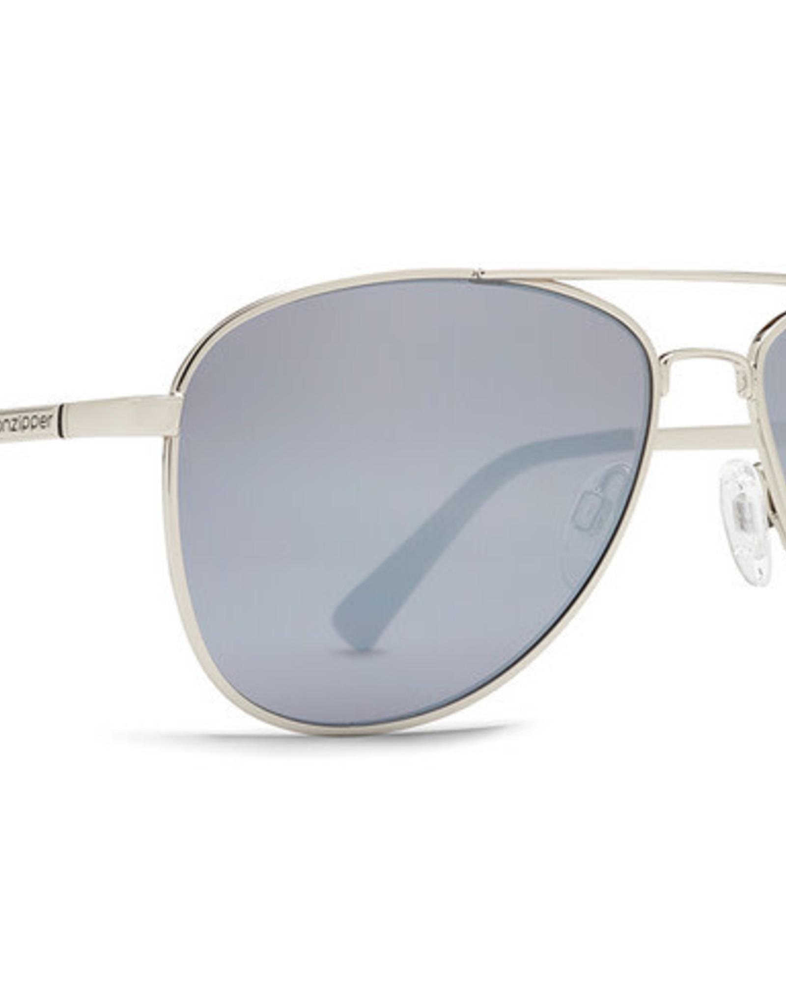 Von Zipper VZ - STATEY - Silver w/ Grey Chrome