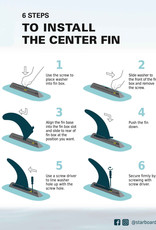 """Connelly Connelley - Replacement SUP FIN (US FIN BOX) - 9"""""""