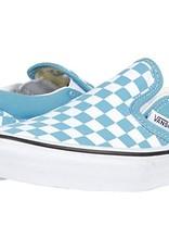 Vans Vans - Yth CLASSIC SLIP ON (Chkrbrd) - Blu/Wht -