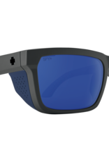 SPY Spy - HELM TECH - Matte Dark Gry w/ POLAR Blue Spectra