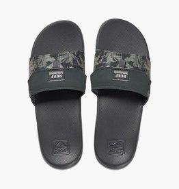 Reef REEF - Mens STASH SLIDE Sandals - Grey Hawaii -