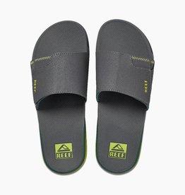 Reef REEF - Mens FANNING SLIDE Sandals - Grey Volt -
