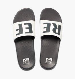 Reef REEF - Mens ONE SLIDE Sandals - Grey/White -