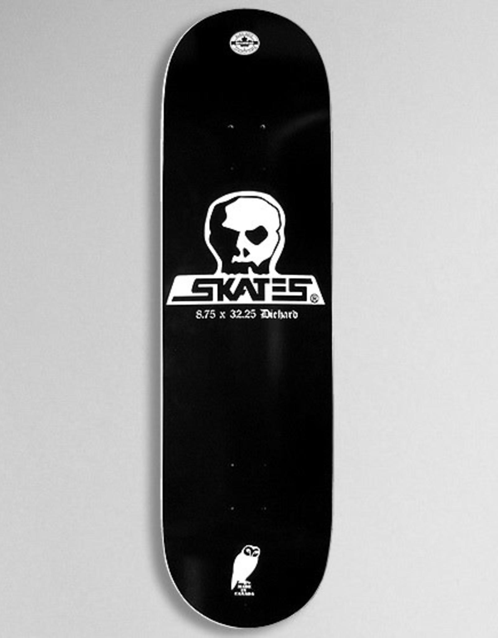 """Skull Skates Skull Skates - DIEHARD DECK - 8.75"""""""