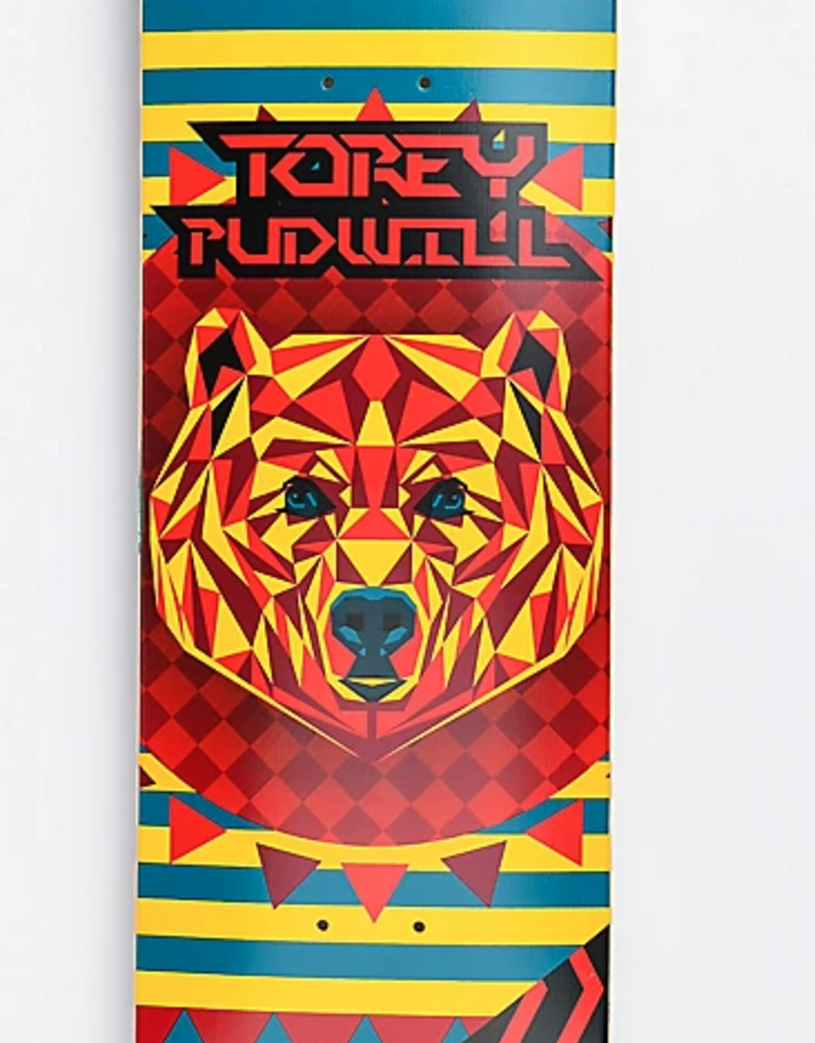 """Thank You Thank You - PUDWILL GEO BEAR DECK - 8.25"""""""
