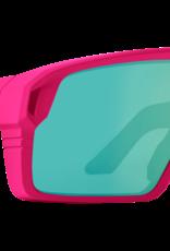 SPY Spy - MONOLITH - Matte Neon Pink w/ Green Spectra