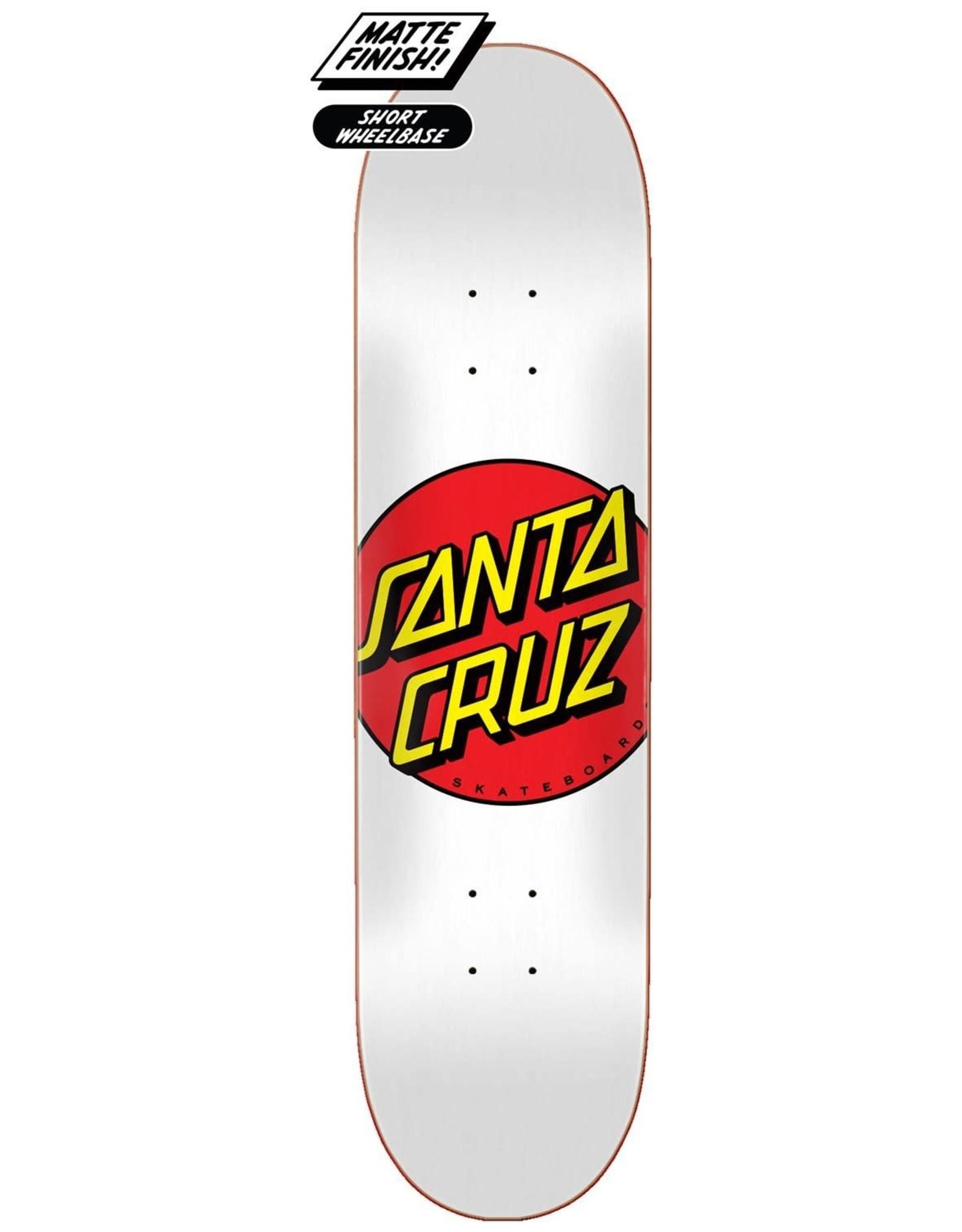 "Santa Cruz Santa Cruz - CLASSIC DOT DECK - 8"""