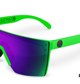 Heatwave Visual Heatwave - LAZER FACE (Z87) - Moto Green w/ Ultra Violet