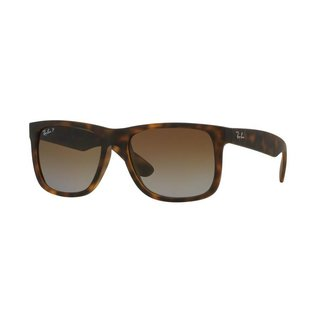 Ray-Ban Ray-Ban - JUSTIN 55 (865/T5) - Havana Rubber w/ POLAR Brown Gradient