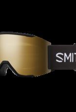 Smith Optics Smith - SQUAD MAG - Black w/ CP Sun Black Gold Mirror + Bonus CP Lens
