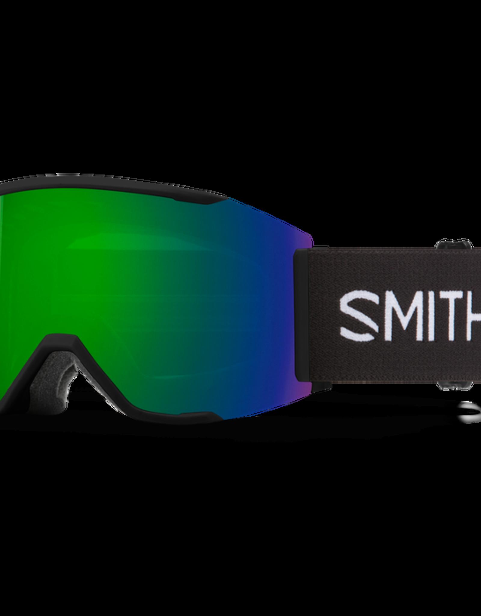 Smith Optics Smith - SQUAD MAG - Black w/ CP Sun Green Mirror + Bonus CP Lens
