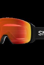 Smith Optics Smith - 4D MAG - Black w/ CP Everyday Red Mirror + Bonus CP Lens