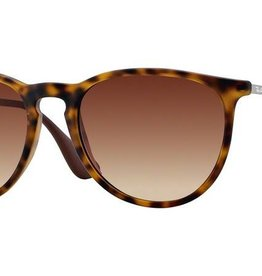 Ray-Ban Ray-Ban - ERIKA 54 (865/13) - Rubber Havana w/ Brown Gradient