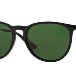 Ray-Ban Ray-Ban - ERIKA 54 (601/2P) - Black w/ POLAR Green