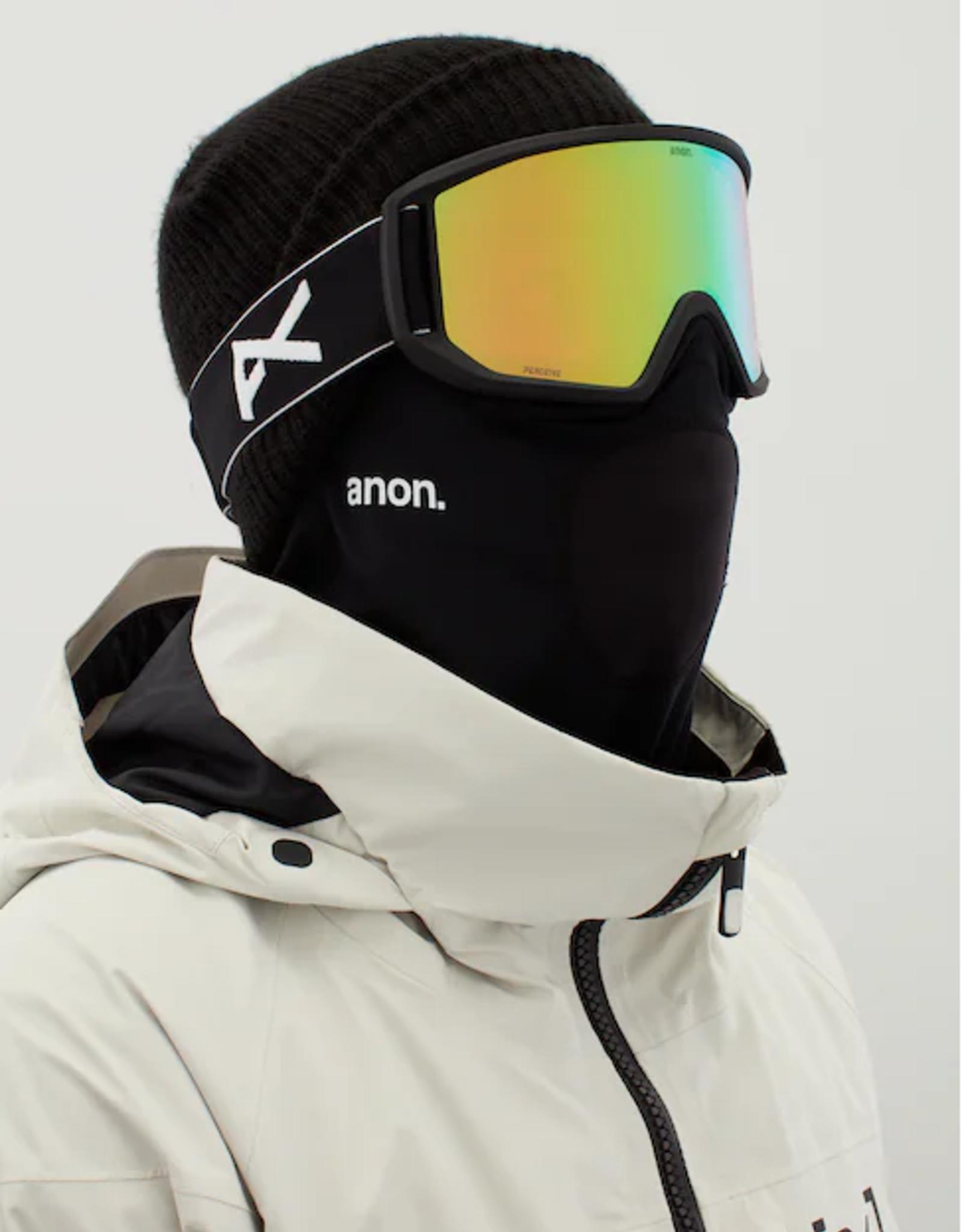 Anon Anon - RELAPSE MFI - Black w/ PERCEIVE Variable Green + BONUS Lens + Mask