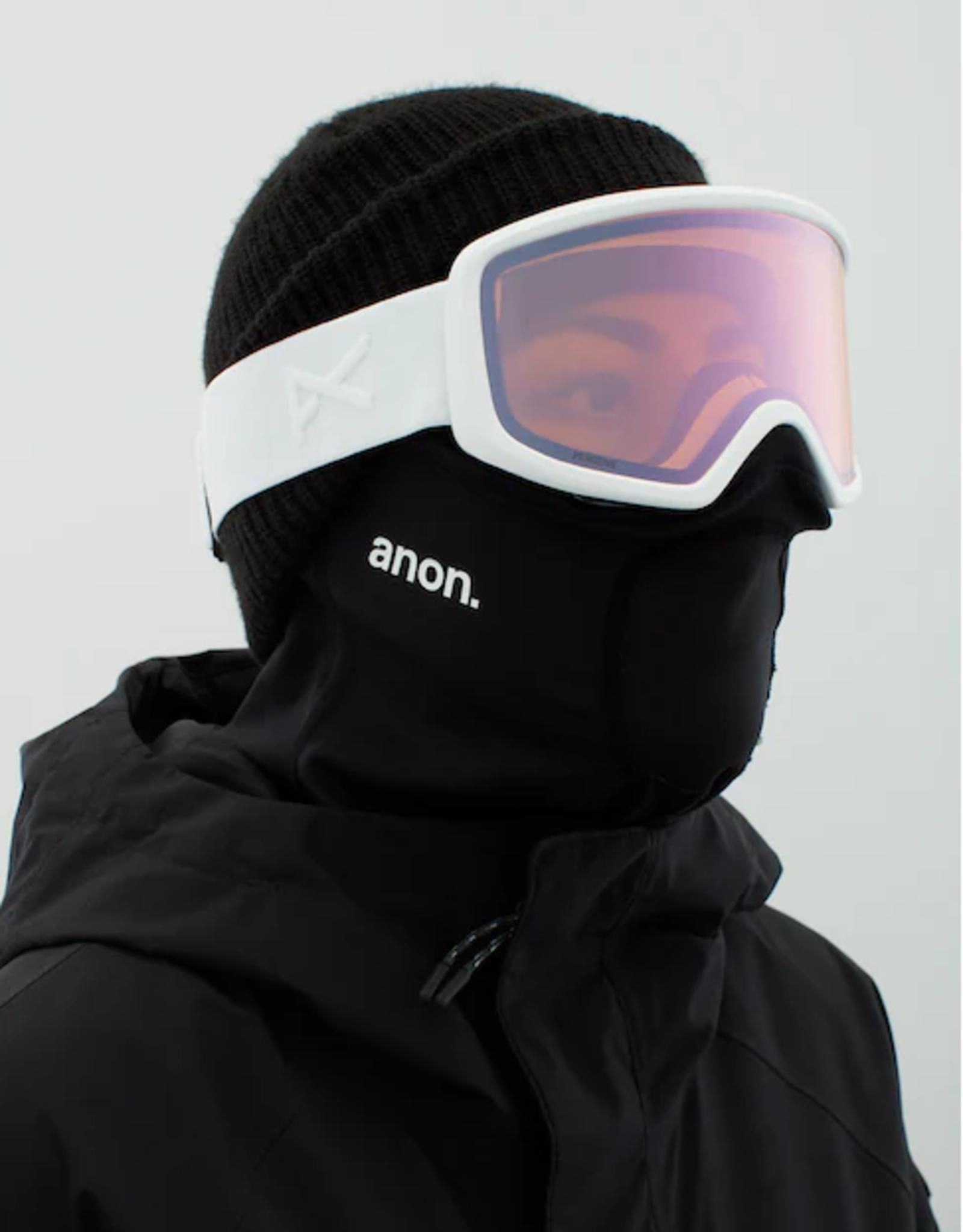 Anon Anon - DERINGER MFI - White w/ PERCEIVE Cloudy Pink + BONUS Lens + Facemask