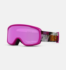Giro - MOXIE Goggle - Flower Data Mosh w/ Amber Pink + Bonus Lens