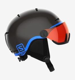 Salomon - GROM VISOR Jr Helmet - Blk -