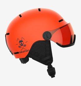 Salomon - GROM VISOR Yth Helmet - Org -