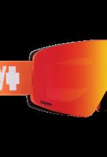 SPY Spy - MARAUDER - Orange w/ Red Spectra Mirror + BONUS Lens