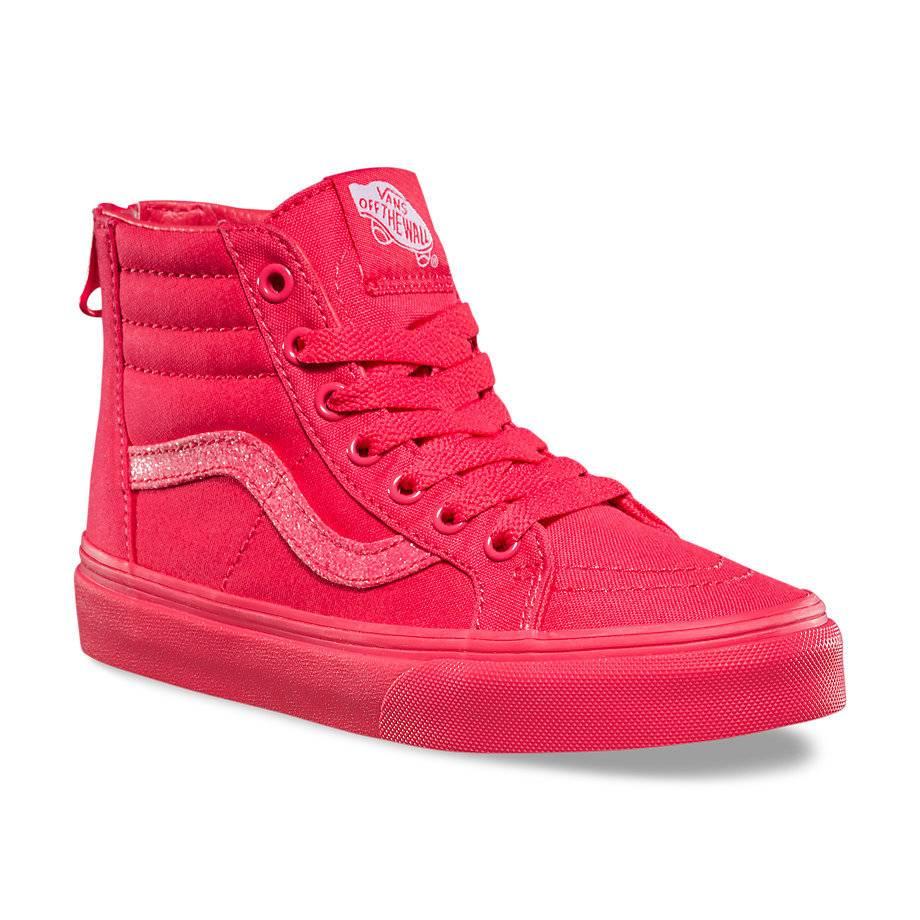cfa8db52697 Vans Vans - SK8 HI ZIP (Mono) Paradise Pink Glitter - - Syndicate ...