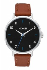 Nixon Nixon - ARROW LEATHER - Black/Brown