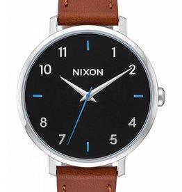 Nixon Nixon - ARROW LEATHER - Black/Brown