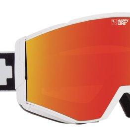SPY Spy - ACE - Matte White w/ Red Spectra + Bonus Lens