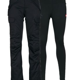 686 686 - W's SMARTY CARGO PANT - Blk -