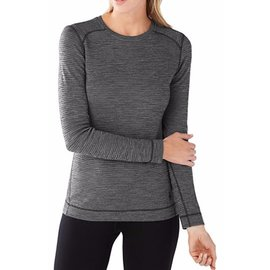 Smartwool - Wmns Merino 250 Pattern Crew - Blk/Gry -