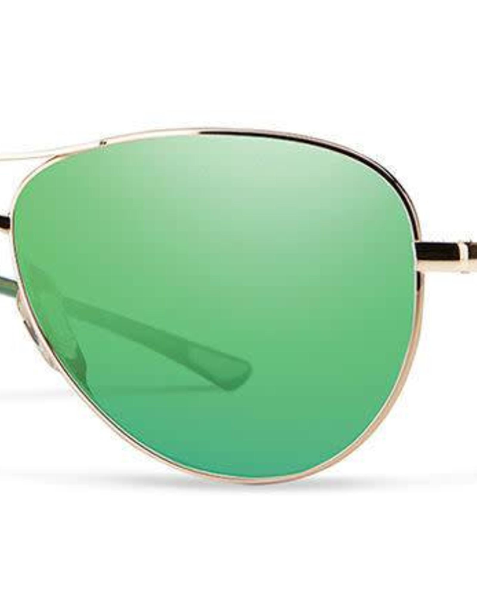 Smith Optics Smith - LANGLEY - Gold w/ Green Mirror
