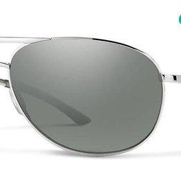 Smith Optics Smith - SERPICO 2 - Silver w/ CP POLAR Platinum