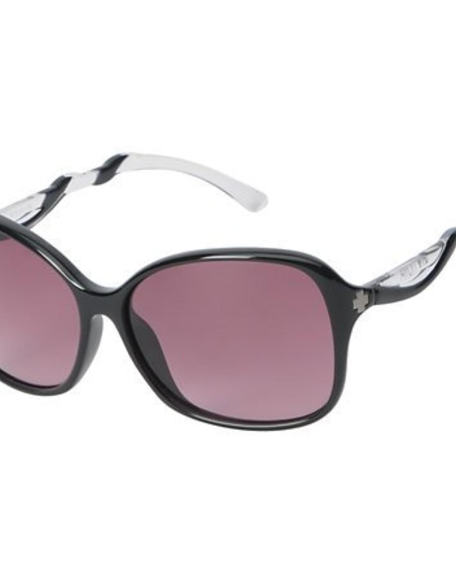 SPY Spy - FIONA - Black/Clear w/ Merlot Fade