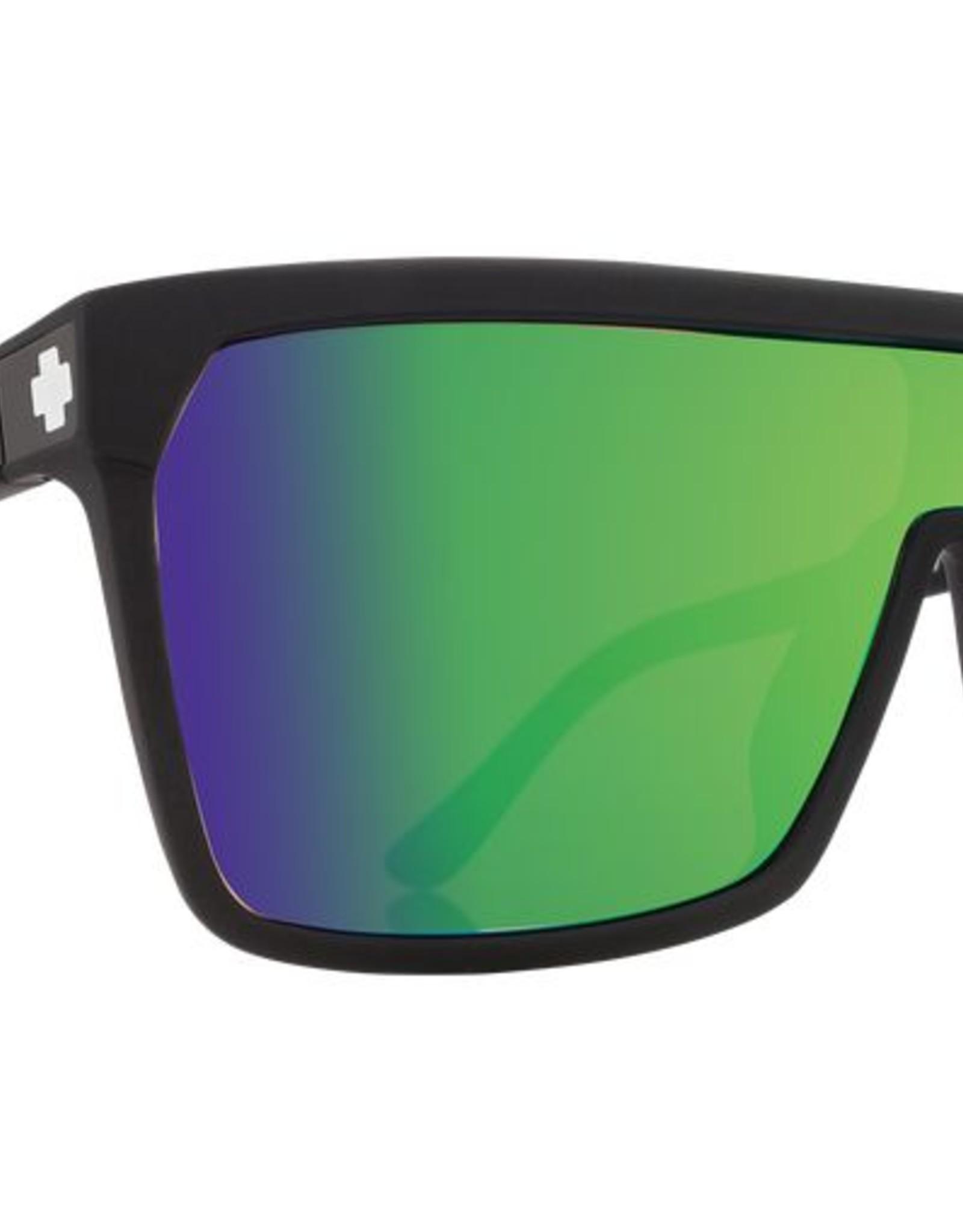 SPY SPY - FLYNN - Matte Black w/ Green Spectra