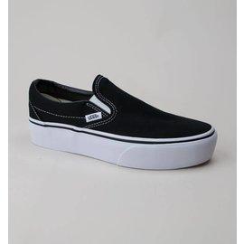 Vans Vans - Yth CLASSIC SLIP ON - Blk/Wht -