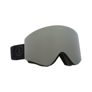 Electric Visual Electric - EGX - Matte Black w/ Silver Chrome + Bonus Lens