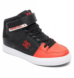 DC DC - PURE HI-TOP EV - Blk/Red -