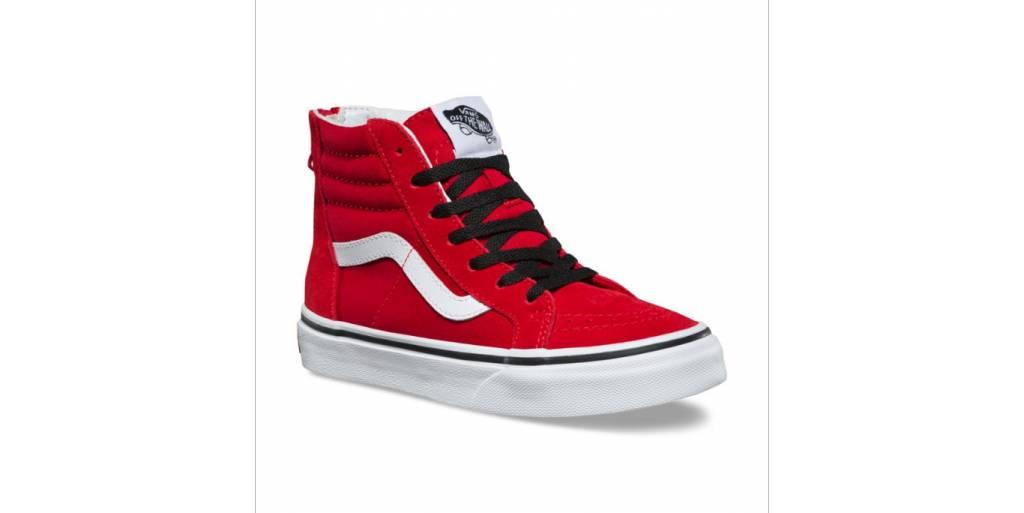 c1783a0f7ae Vans Vans - Yth SK8-Hi Zip (Pop) - Racing Red - - Syndicate ...